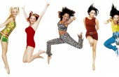 Spice Girls jumping PNG